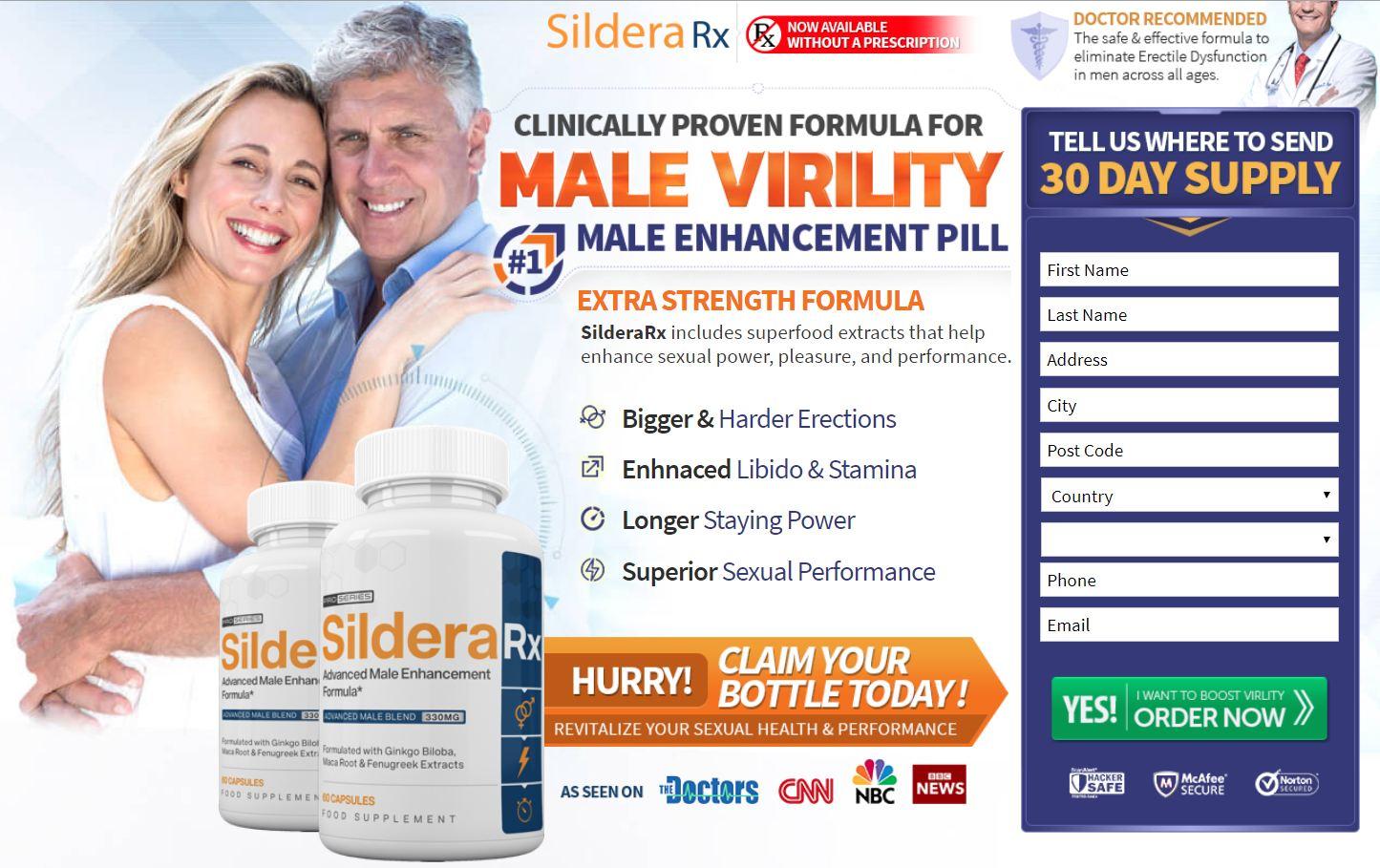 SilderaRX Male Enhancement UK