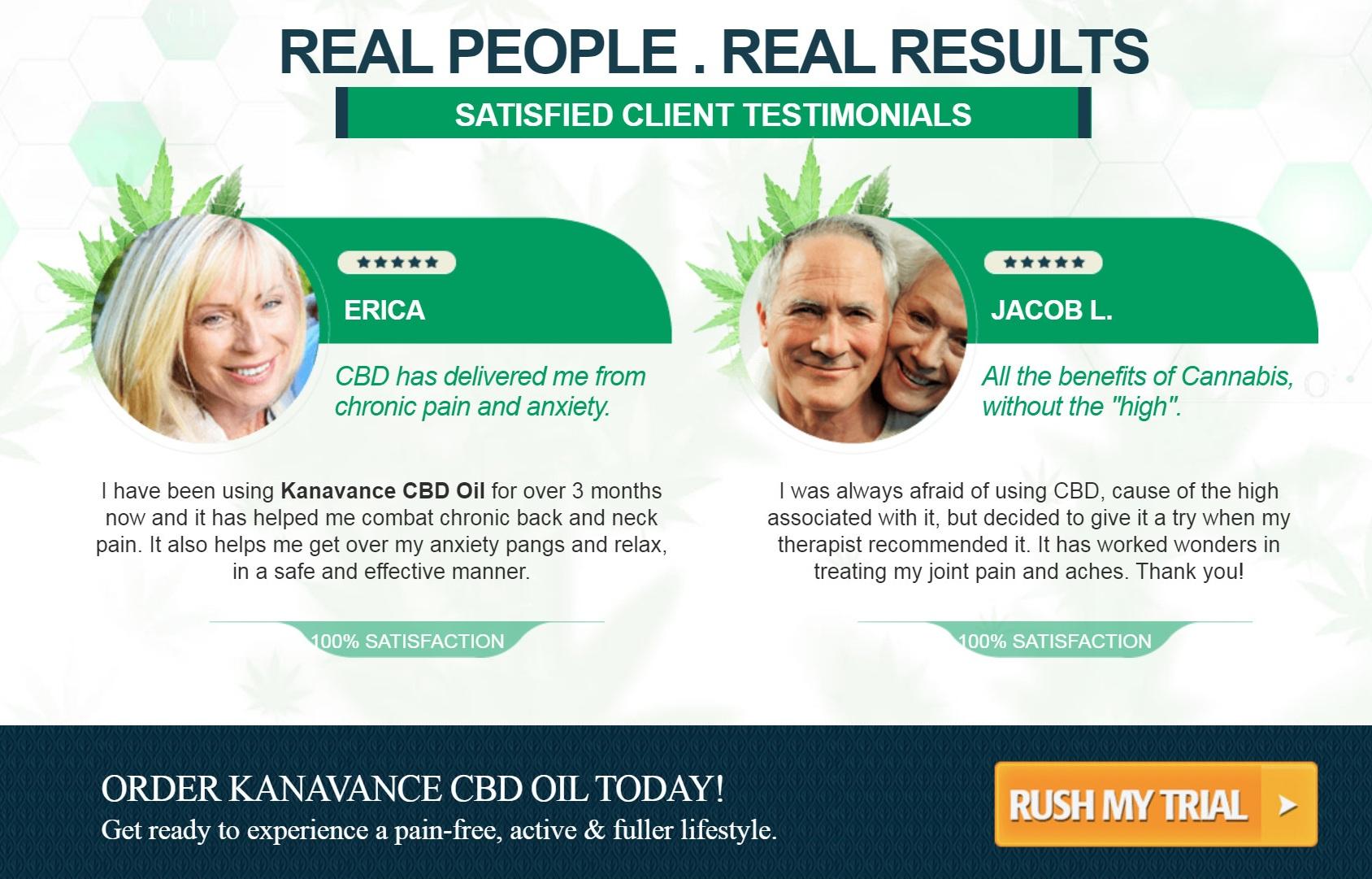 Kanavance CBD Oil Reviews