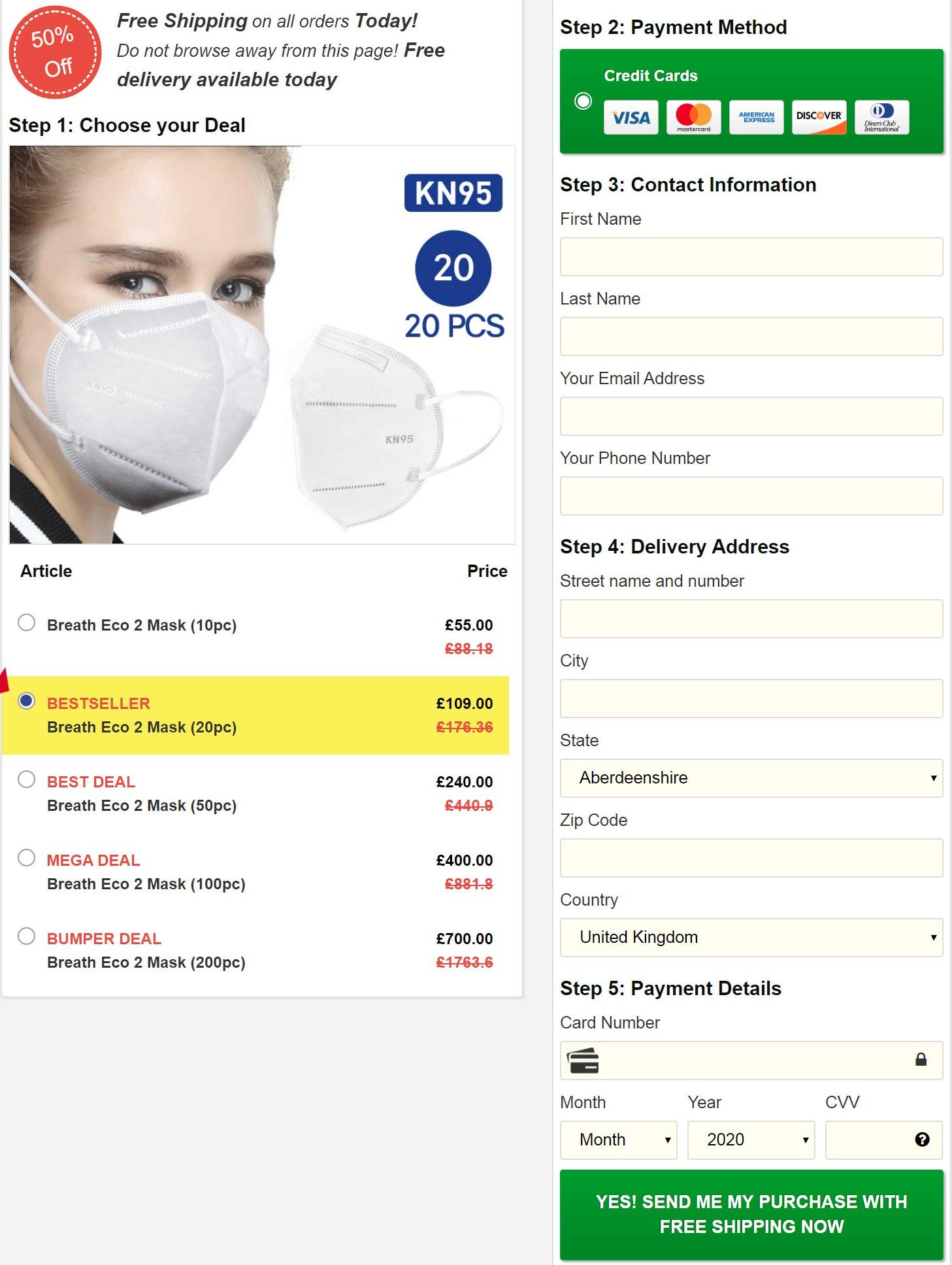 breath Eco2 Mask Price